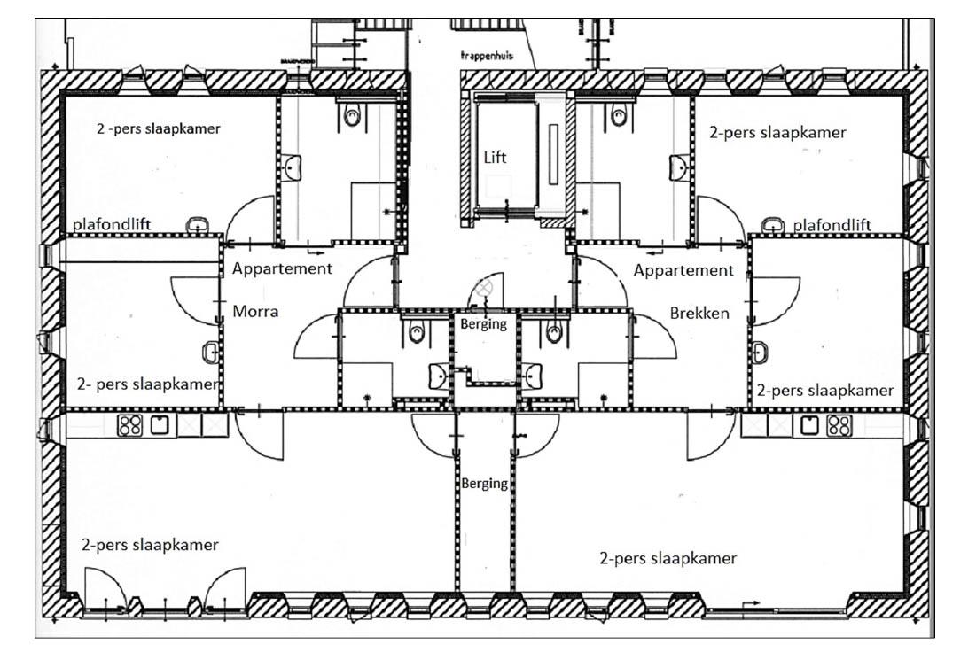 It Sailhûs - eerste verdieping